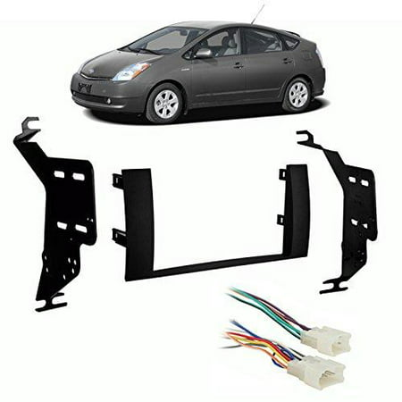 Toyota Prius 2004-2009 Double DIN Stereo Harness Radio Install Dash Kit