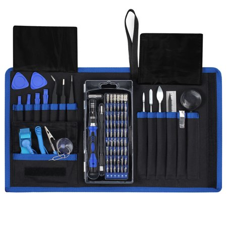 Screwdriver Bit Kit - ESYNIC 78 in 1 Magnetic Screwdriver Set with Muti 54 Bits Precision Driver Repair Tool Screwdriver Set Magnetic Driver Kit Professional Repair Tool Kit 78-in-1 Precision Screwdriver Kit