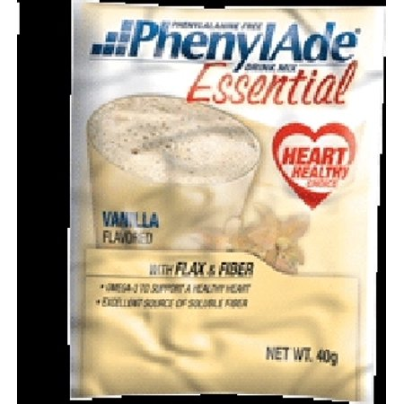 PKU Formula Drink Mix PhenylAde Essential Vanilla 40 gm Pouch-1 -
