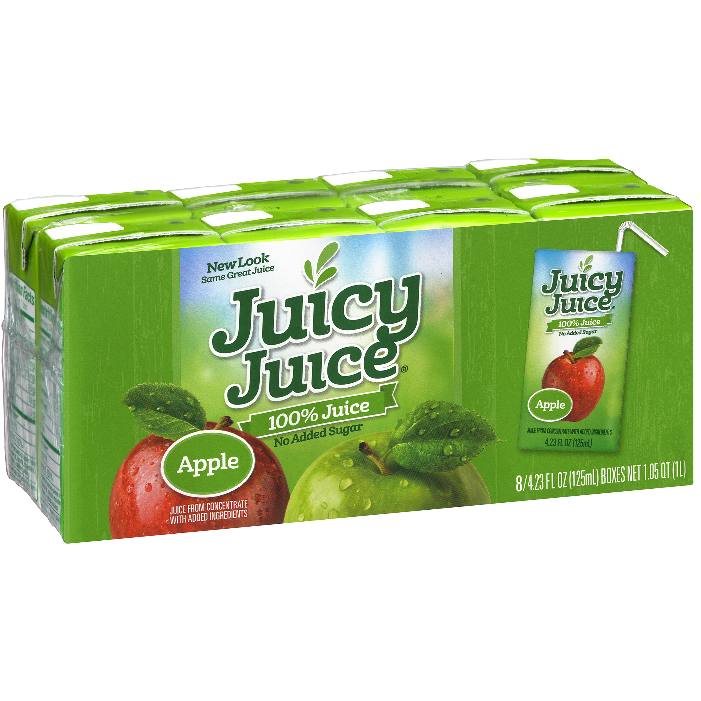 Juicy Juice�� Apple 100% Juice 8-4.23 fl. oz. Boxes