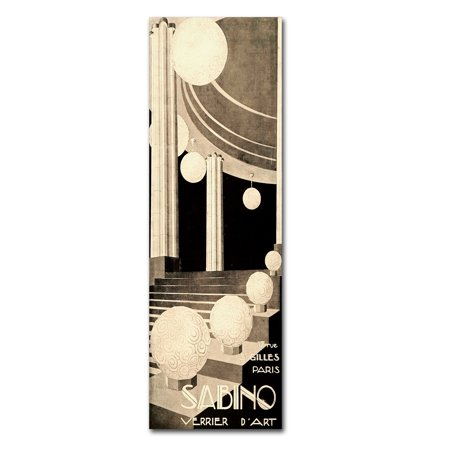 Trademark Fine Art 'Sabino' Canvas Art by Vintage Apple Collection