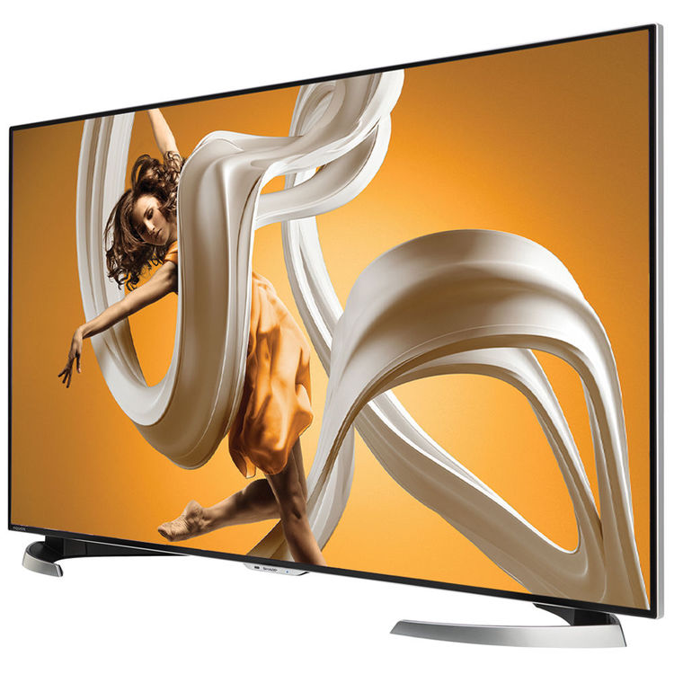 "Refurbished Sharp AQUOS 60"" Class 4K (2160P) Smart LED TV (LC-60UD27U) by Sharp"