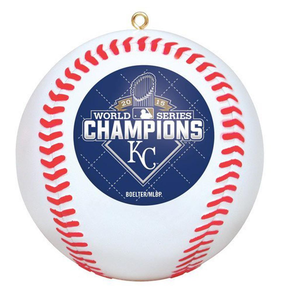 Kansas City Royals 2015 World Series Champions Baseball Christmas ...