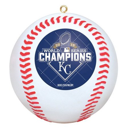 Kansas City Royals 2015 World Series Champions Baseball Christmas Tree Ornament - Baseball Christmas