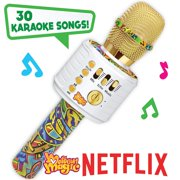 Motown Magic Bluetooth Karaoke Microphone Perfect Christmas Gifts for Kids, Toy for 4 5 6 7 8 year old Girls and Boys Colorful Mic