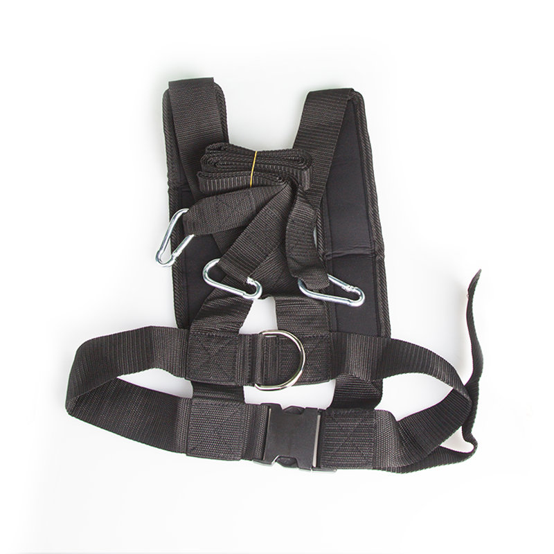 Speed Harness for Shoulder Resistance Drag Pull Belt