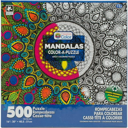 Color A Puzzle Assortment, 16