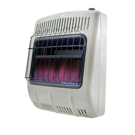 Mr. Heater 20,000 BTU Vent Free Blue Flame Natural Gas (Flame Vent Free Natural)