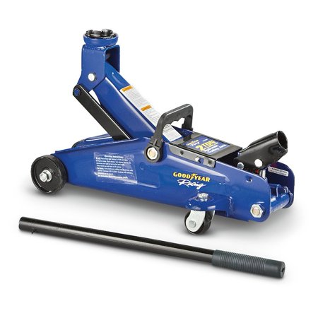 Goodyear Racing Hydraulic Trolley Jack - 2-Ton Capacity, Model#