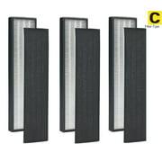 Pack of 3 - True HEPA Filter C for GermGuardian FLT5000 FLT5111 AC5000