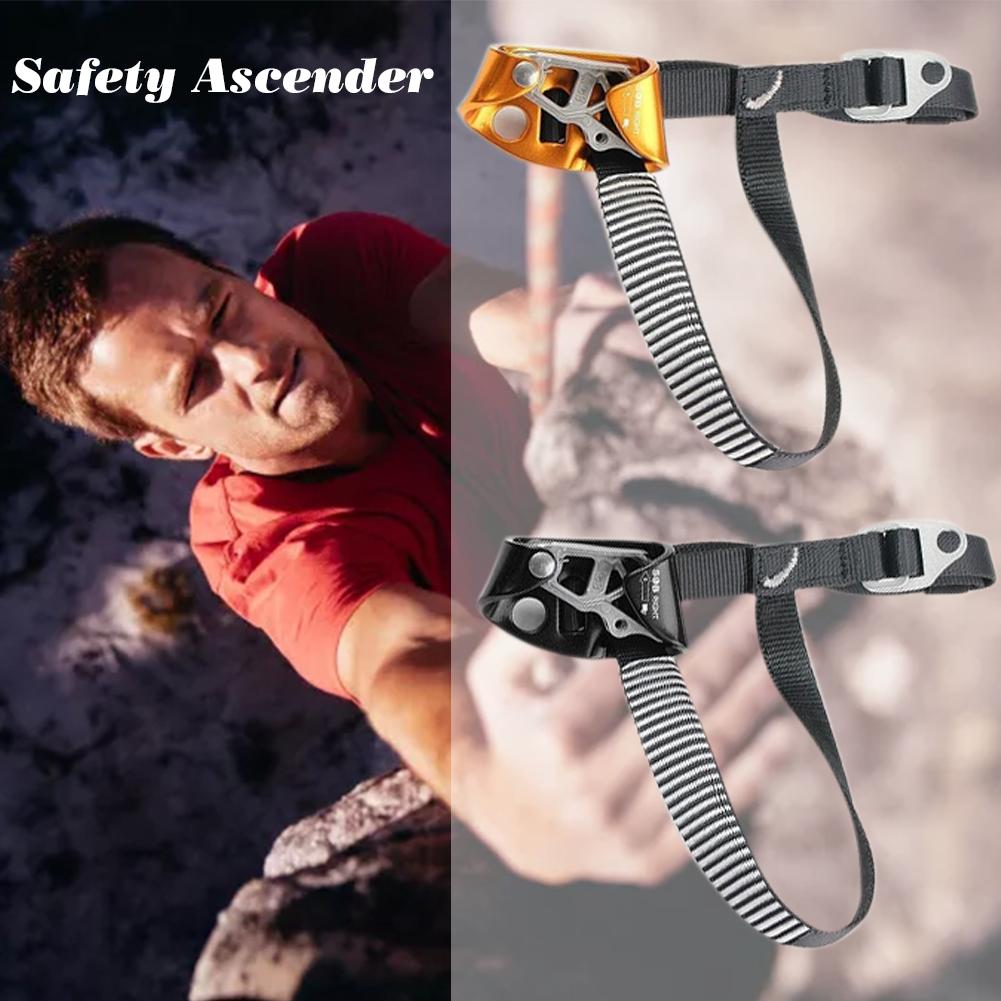 Pair LEFT+RIGHT Foot Rock Climbing Ascender Tree Arborist Caving Equipment Gear