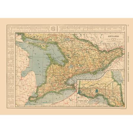 Ontario Canada - Reynold 1921 - 31.54 x (Cheap Reading Glasses Canada)