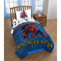 Marvel Spiderman Movie Wall Crawler Twin Comforter