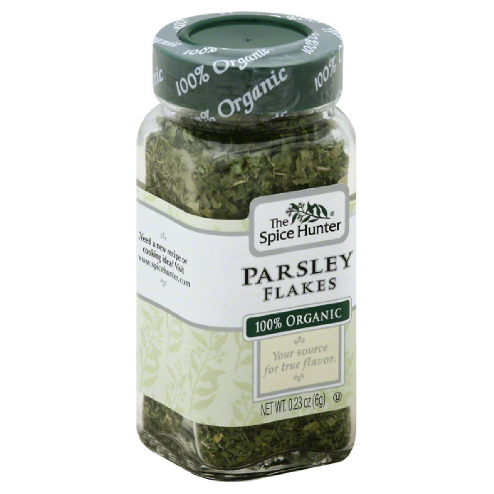 Spice Hunter Parsley Flakes, 100% Organic