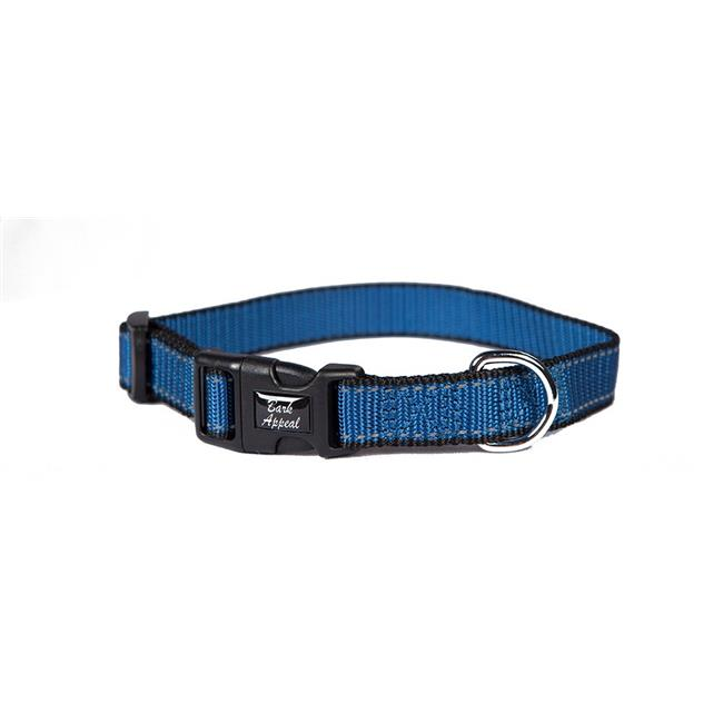 Bark Appeal BLRNPC-5-8 Reflective Collar, Blue - 0.65 in. - image 1 of 1