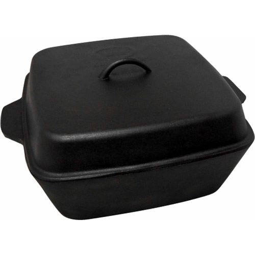 King Kooker 12-Quart Cast Iron Roaster with Lid by Metal Fusion, Inc.
