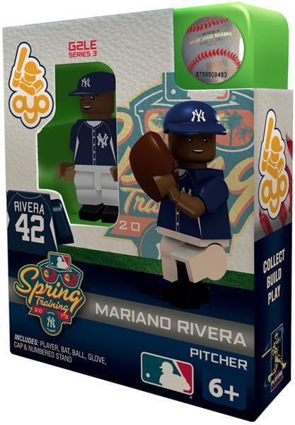 MLB Generation 2 Series 3 Mariano Rivera Minifigure [Spring Training] by Generic