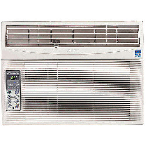 Sharp AFS120RX High Efficiency 12,000-BTU Room Window Air Conditioner with Rest Easy Remote Control