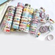 10pcs Cartoon Masking Adhesive Tape DIY Scrapbooking Stickers Label Stationery