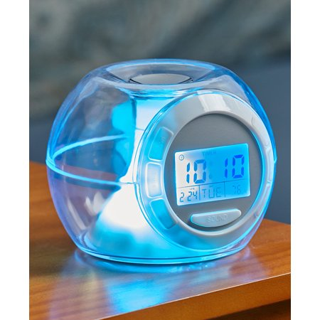 Color-Changing Alarm Clock with Soothing Nature Sounds (Timex Alarm Clock Nature Sounds)