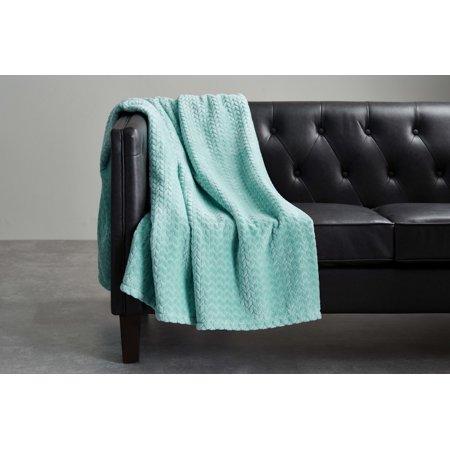 Better Homes & Gardens Oversized Velvet Plush Throw Blanket, 50