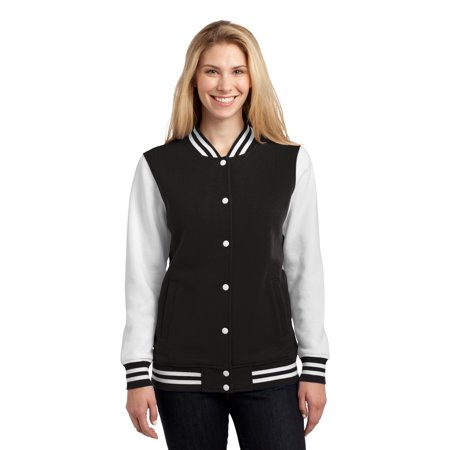 Twill Letterman Jacket (Sport-Tek Ladies Fleece Letterman Jacket)