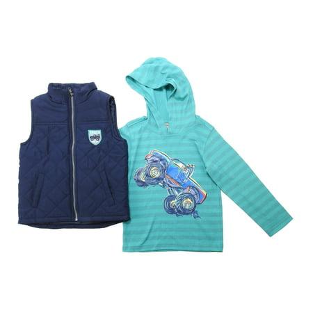 b39f3a73d KIDS HEADQUARTERS - Kids Headquarters Boys Size 5 Truck Rally Vest ...