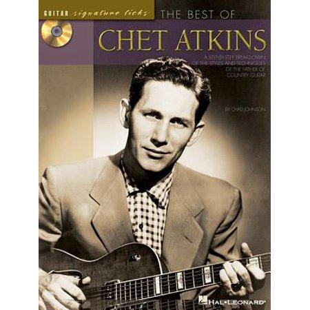 Guitar Signature Licks: The Best of Chet Atkins (Signature Licks Bass)