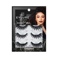Eylure Jasmine Brown False Lashes, Jaybee, (Pack of 3)
