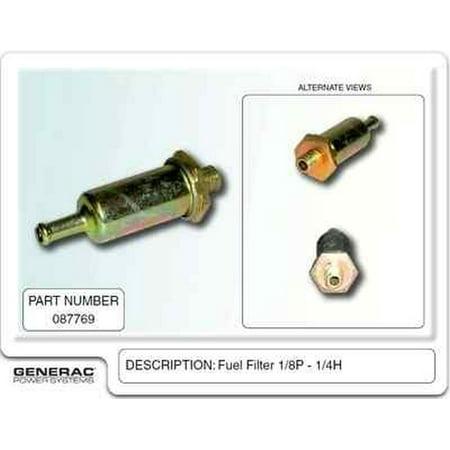 generac 087769 oem rv guardian generator fuel filter. Black Bedroom Furniture Sets. Home Design Ideas