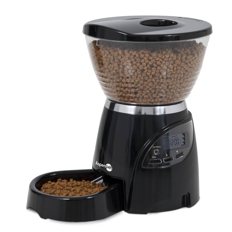 Aspen Pet Programmable LeBistro 5 lb Food Dispenser