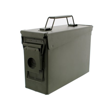 30 Cal Metal Ammo Can - Military Steel Box Shotgun Rifle Nerf Gun Ammo Storage thumbnail