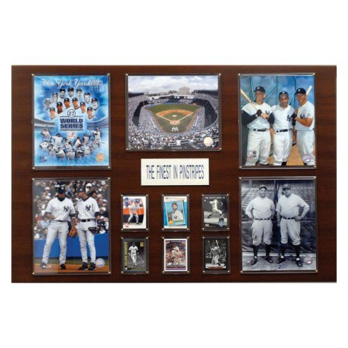 MLB 24 x 36 in. New York Yankees Greatest Stars Plaque