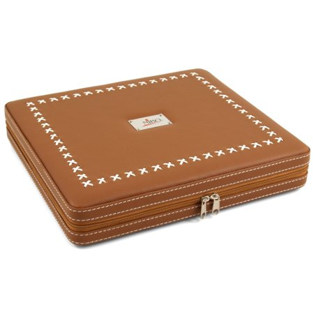 Nibo Brown Leather 20 Count Travel Cigar