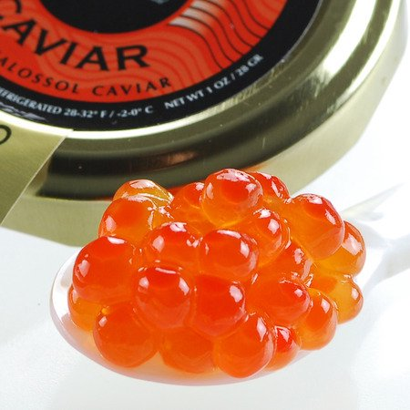 American Salmon Roe Pink Caviar Wild Caught - 4 oz