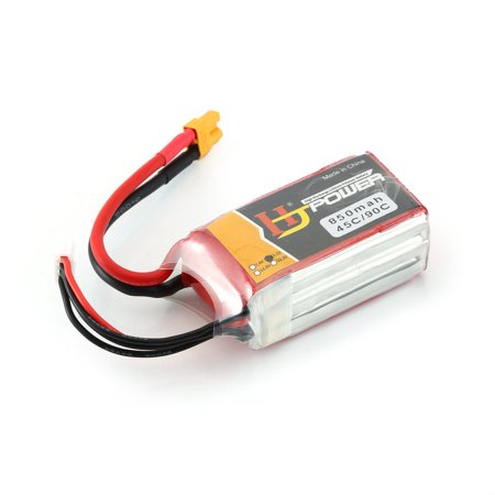HJ 11.1V 850MAH 45C 3S Lipo Battery XT30 Plug Rechargeable for RC Racing Drone Helicopter Car Boat Model - image 7 de 10