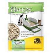 Cats Breeze Cat Litter Pellets, Refill 3.5 lb, Litter System and Cat Pads also sold separately. By Tidy