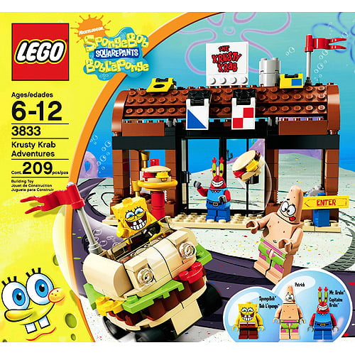 Lego SpongeBob SquarePants Krusty Krab Adventures by