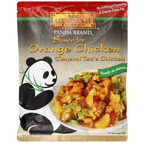 Lee Kum Kee Orange Chicken Sauce, 8 oz (Pack of 6)