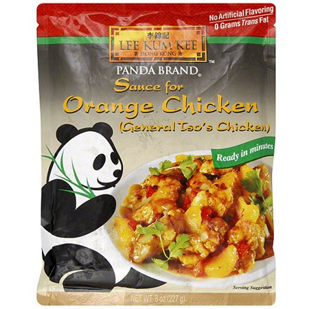 Lee Kum Kee Orange Chicken Sauce, 8 oz (Pack of 6)