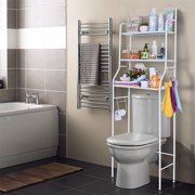 Toilet Shelf 3 Tiers Mainstays Bathroom Space Saver Towel Organizer Over The Toilet Shelf Unit