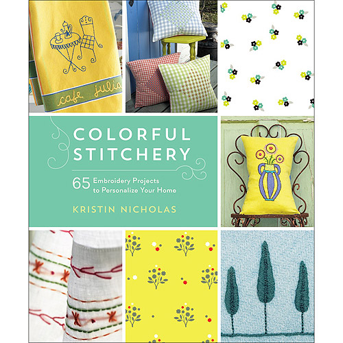 Roost Books, Colorful Stitchery
