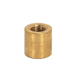Satco Brass Couplings Unfinished 5/8in Long 5/8in Diameter 1/8 F x 1/4 F