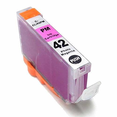 Universal Inkjet Compatible Cartridge for Canon CLI-42PM Cartridge, Photo Magenta