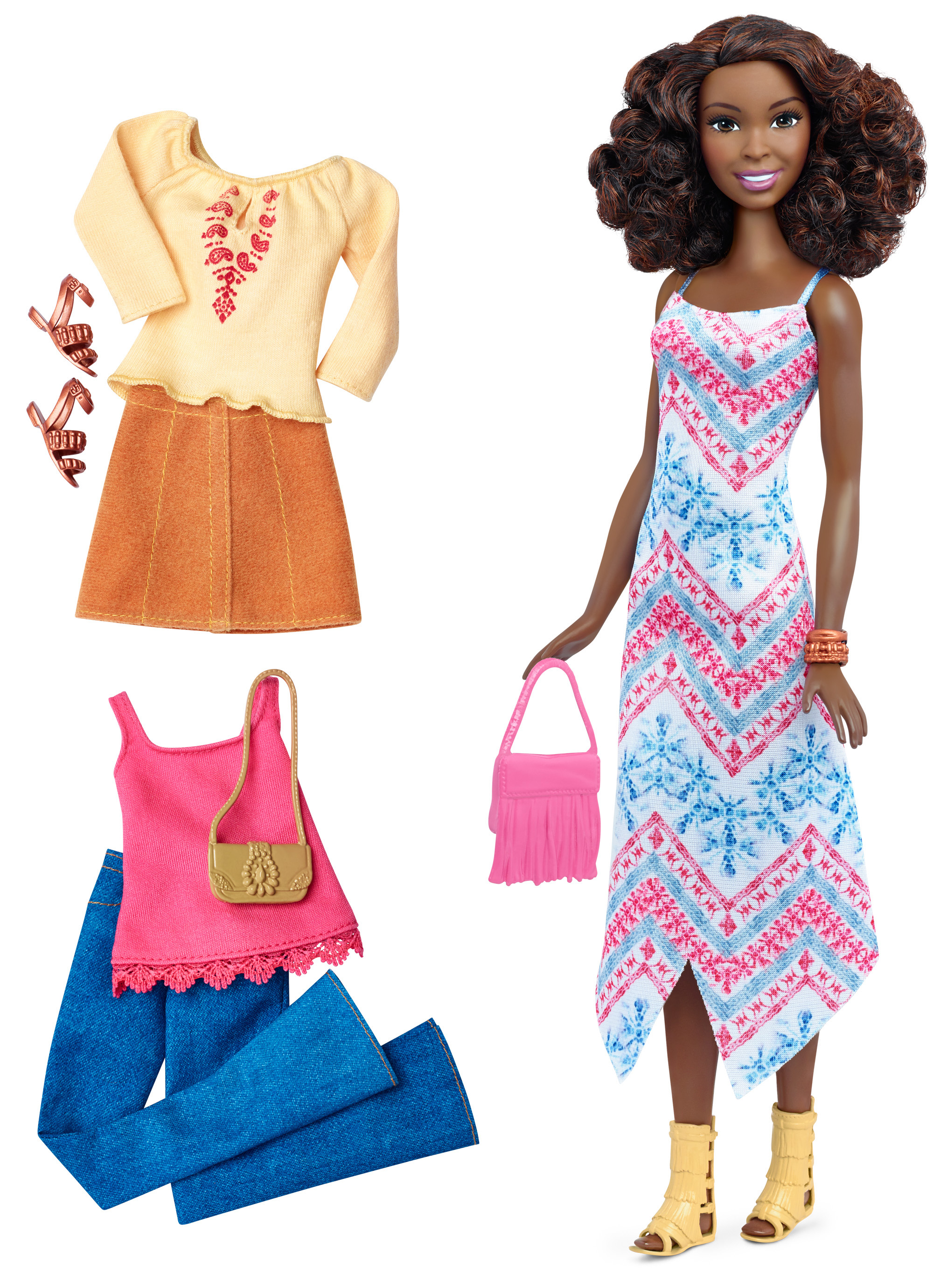 Barbie Fashionistas Doll & Fashions, Boho Fringe by MATTEL INC.