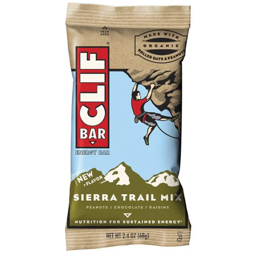 Clif Bar Natural Energy Bar - Box of 12 (Sierra Trail Mix)