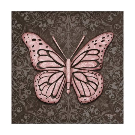 Pink Butterfly IV Print Wall Art By Todd Williams