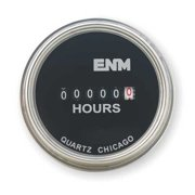 ENM T40A4507 Hour Meter,Electrical,Flush Round,SS