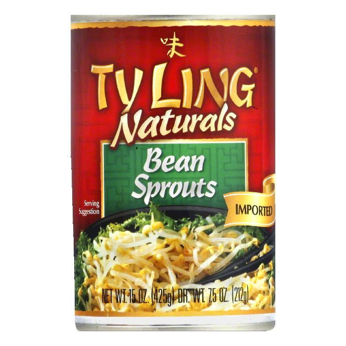 Tyling Bean Sprouts, 15 OZ (Pack of 12)