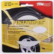 TRIMBRITE T1110 Pinstripe Tape, White, 0.12 In. X 36 Ft.